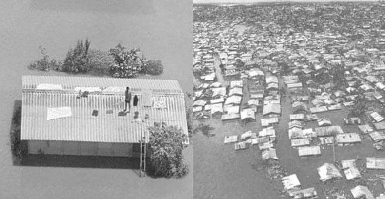 huracán Fifí en Honduras
