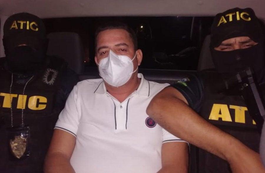 La captura de Mármol se llevó a cabo en Tegucigalpa.