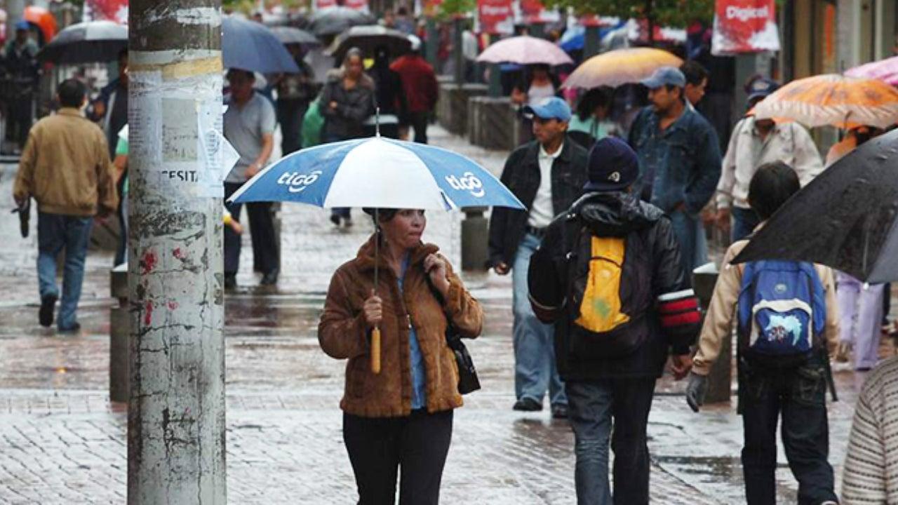 pronostico de lluvias para hoy