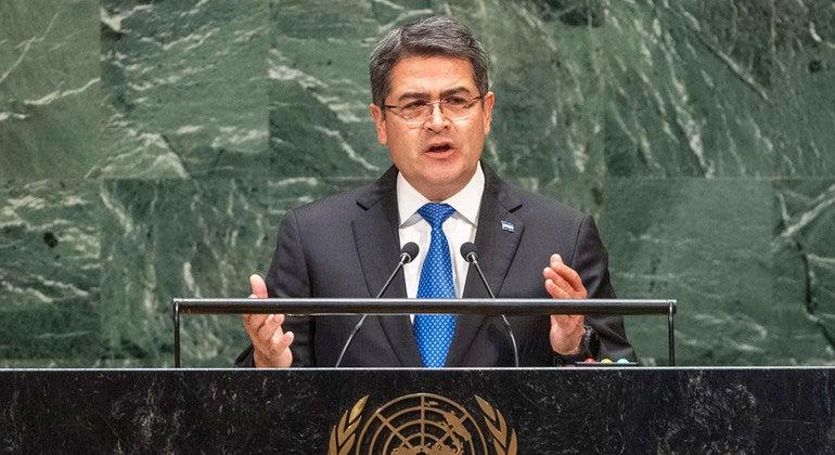 El gobernante aseguró que seguirá defendiendo a Honduras de el narcotráfico.