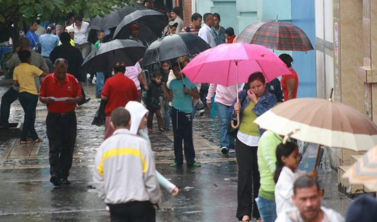 CLIMA DE HOY: Fuertes lluvias en occidente, centro y sur del país