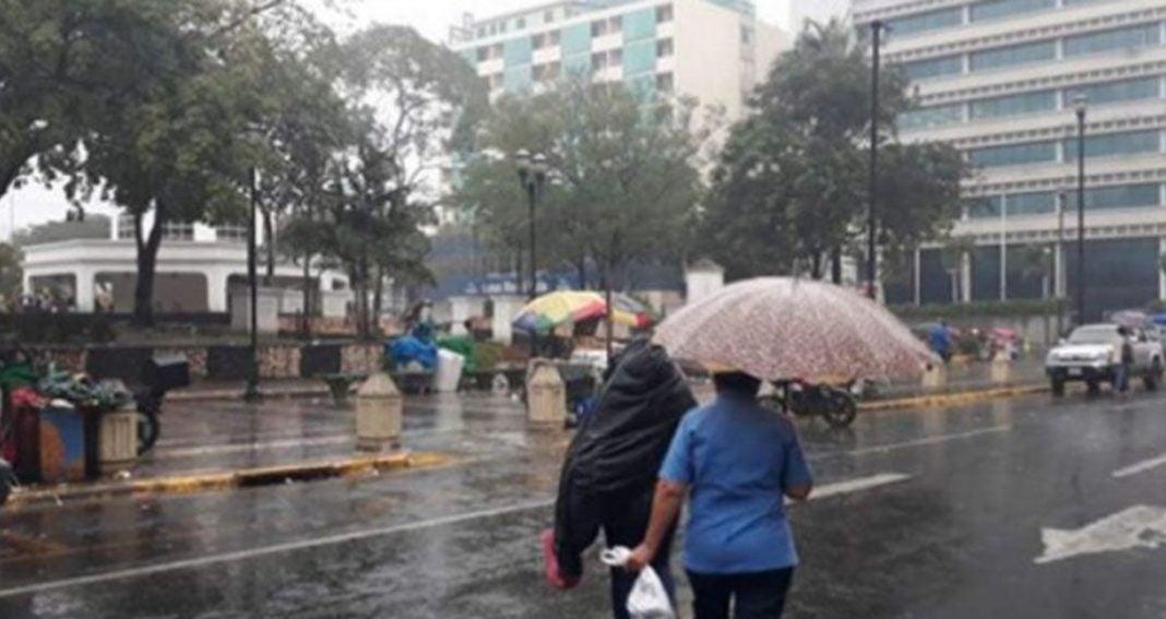 Lluvias por onda tropical Honduras