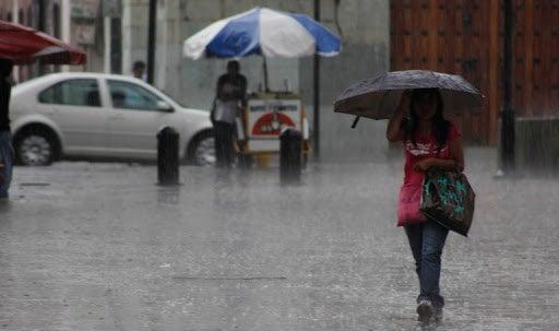 Se espera que las lluvias sean en horas de la tarde y noche de este jueves.