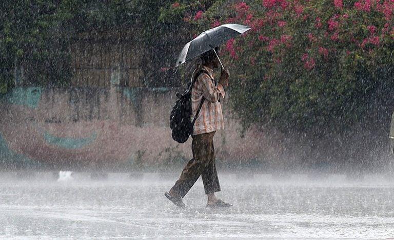 CENAOS pronostica lluvias y actividad eléctrica en tres zonas