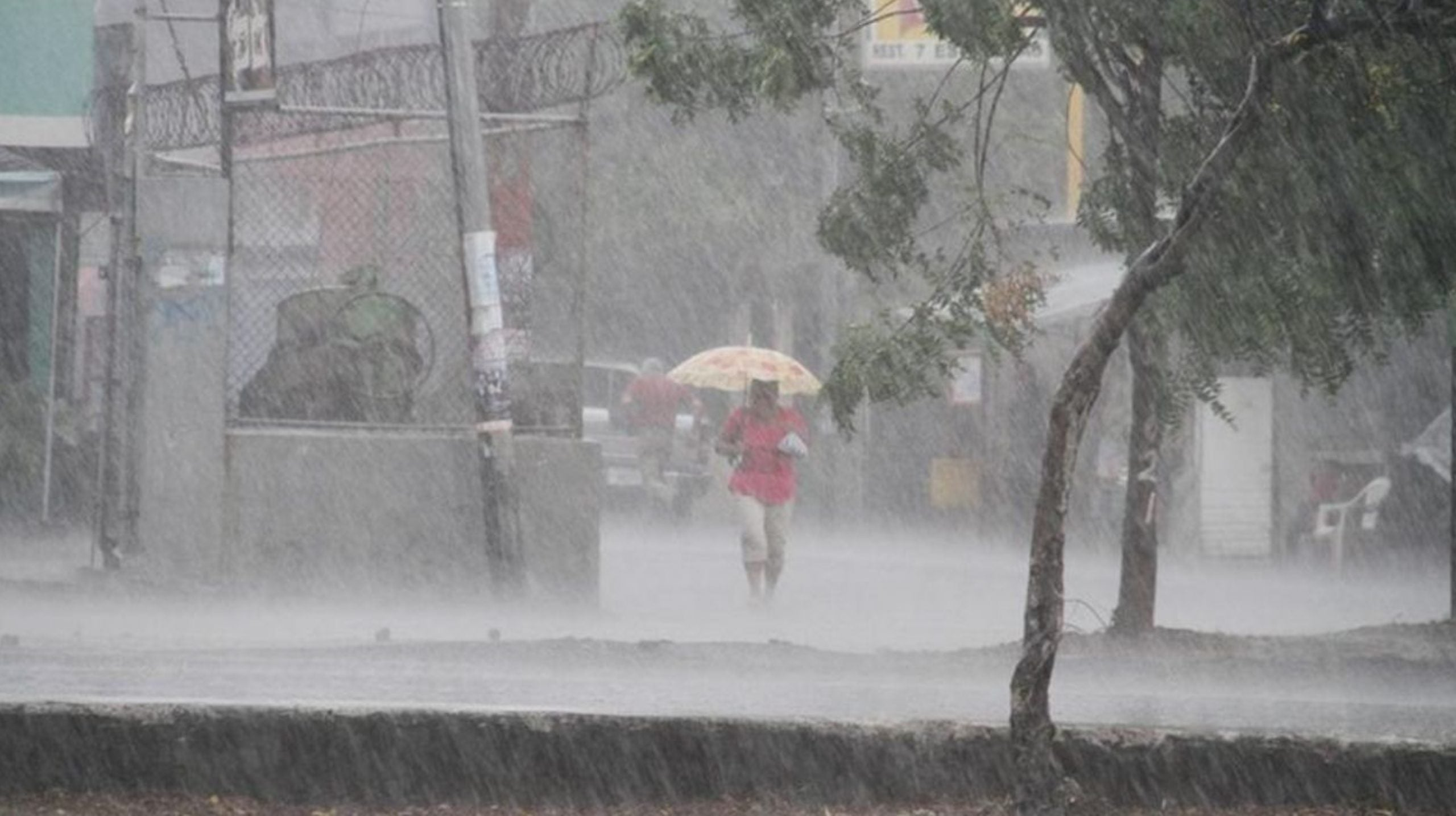 Lluvias hoy sábado Honduras