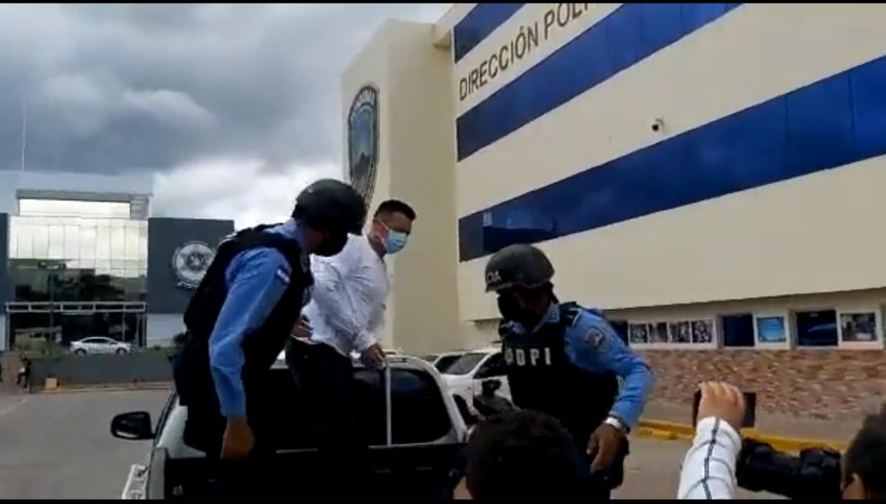 El supuesto marero tiene procesos pendientes en Honduras y en su natal El Salvador.
