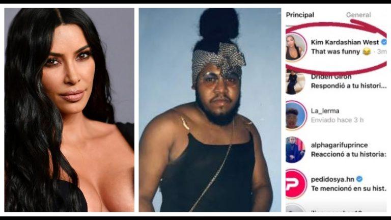 """Kim Kardashian responde a video del comediante """"La More"""""""