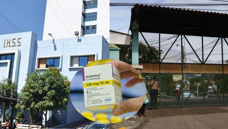 IHSS tiene Tocilizumab hasta enero: El Tórax sigue con escasez