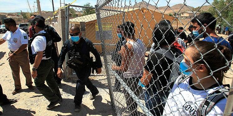 Los migrantes eran 39 guatemaltecos y 3 hondureños.