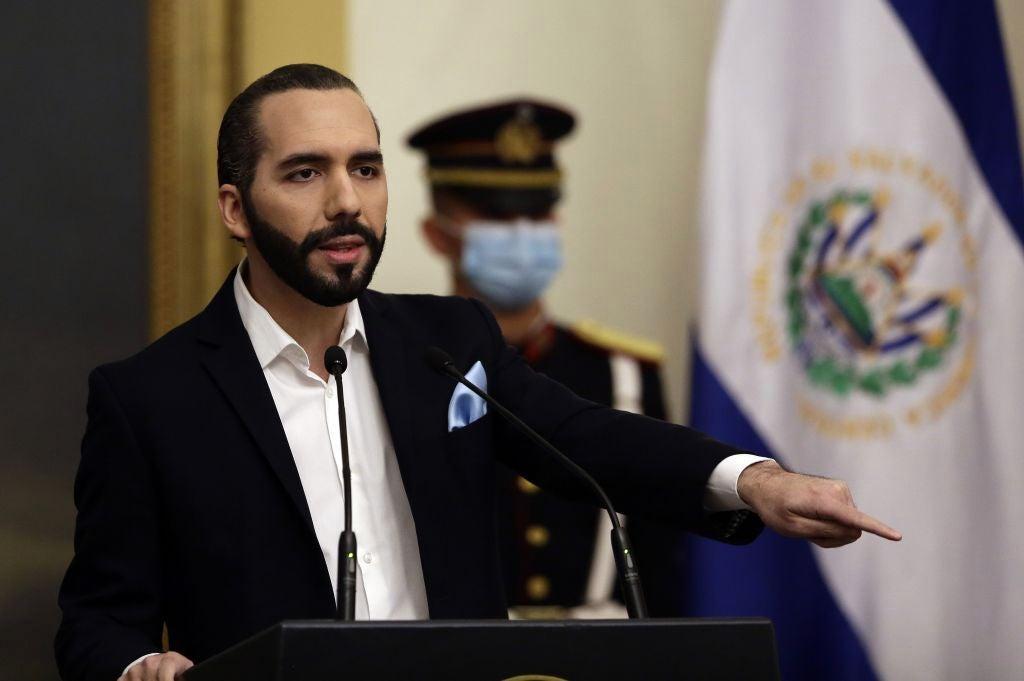 Corte Suprema salvadoreña a favor de la reelección de Bukele.