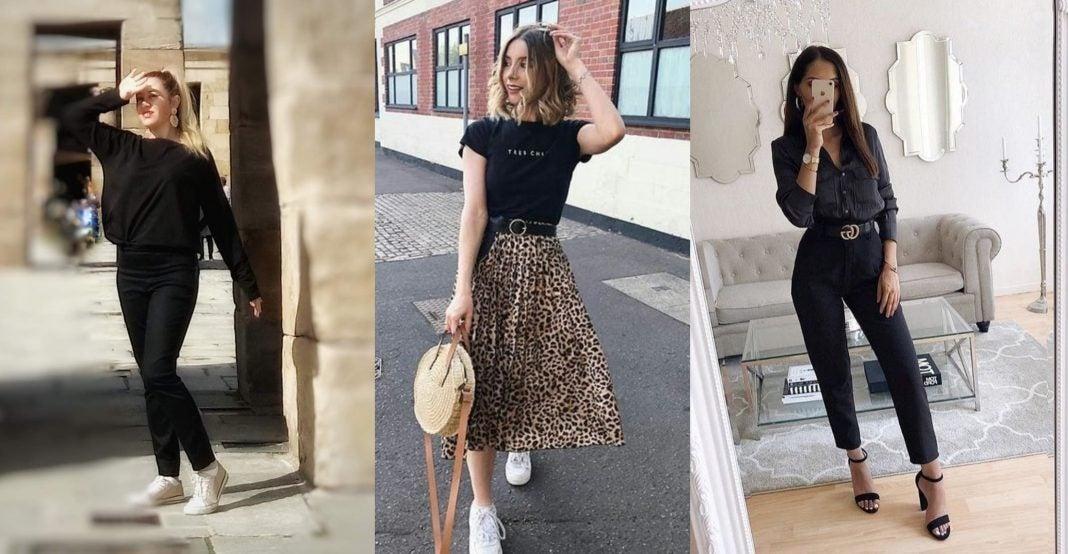 Errores al vestir negro