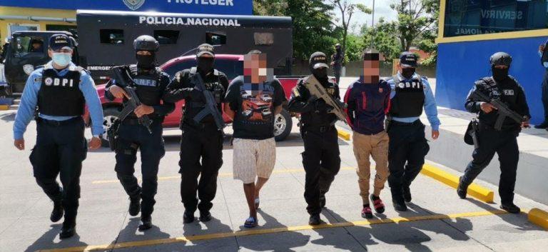 A prisión implicados en masacre que dejó 6 muertos en Comayagua