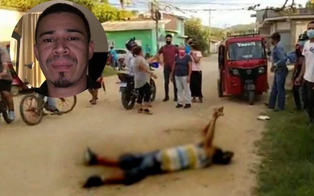 matan a hombre en guaimaca