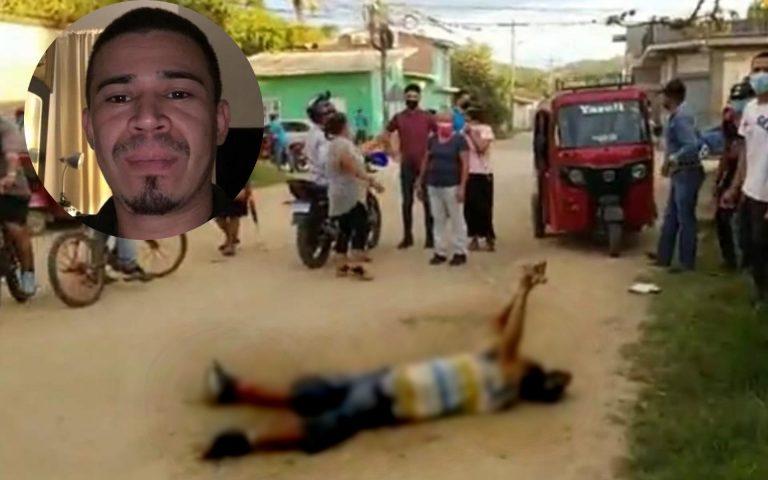 Recién había regresado de EEUU: matan a un hombre en Guaimaca
