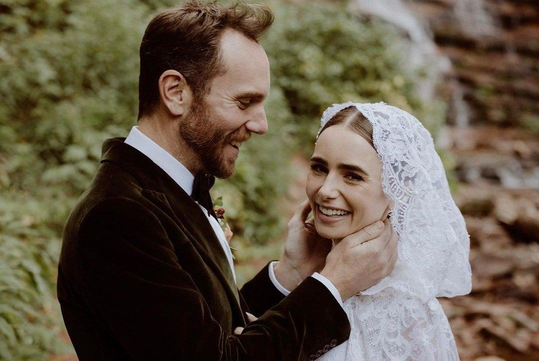 Lily Collins boda