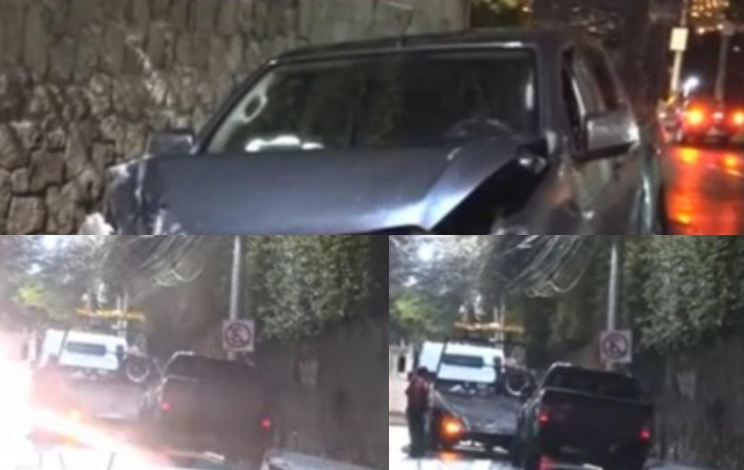Por exceso de velocidad, militar se estrella en muro de vivienda
