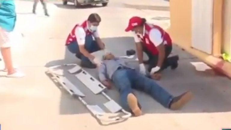 Por robarle el arma, tirotean a guardia del Hospital Escuela