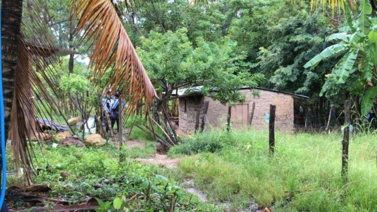 La masacre ocurrió dentro de una humilde vivienda en Las Tejeras.