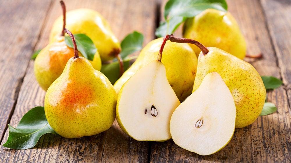 Propiedades y vitaminas pera