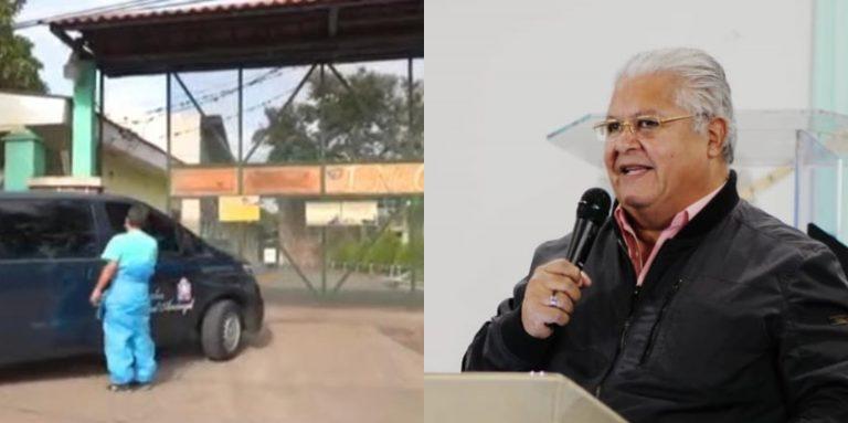 """Retiran de """"El Tórax"""" los restos del pastor Mario Tomás Barahona"""