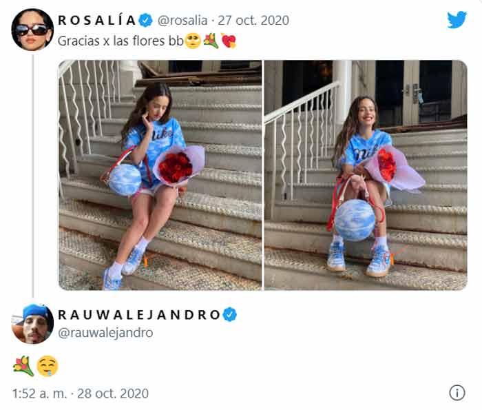 Rosalía Rauw noviazgo