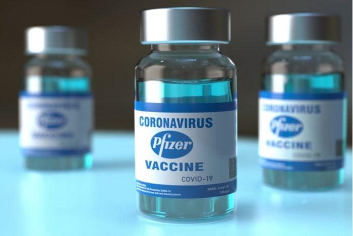 Vacuna Pfizer.
