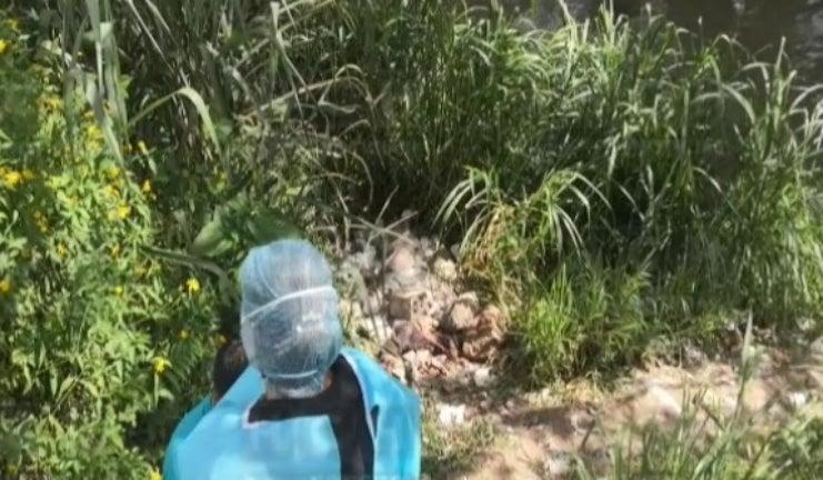 Siguatepeque: semienterrado dejan hombre tras matarlo a pedradas