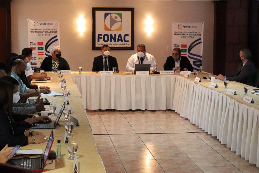 Yani plan de gobierno FONAC