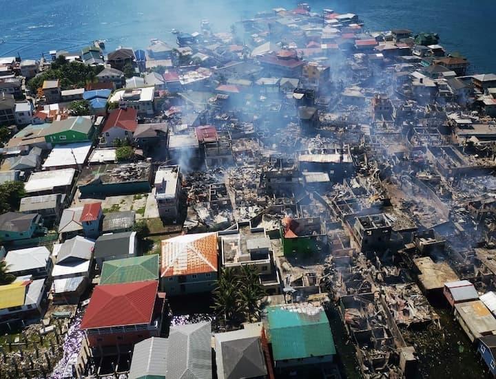 BCIE donación incendio Guanaja