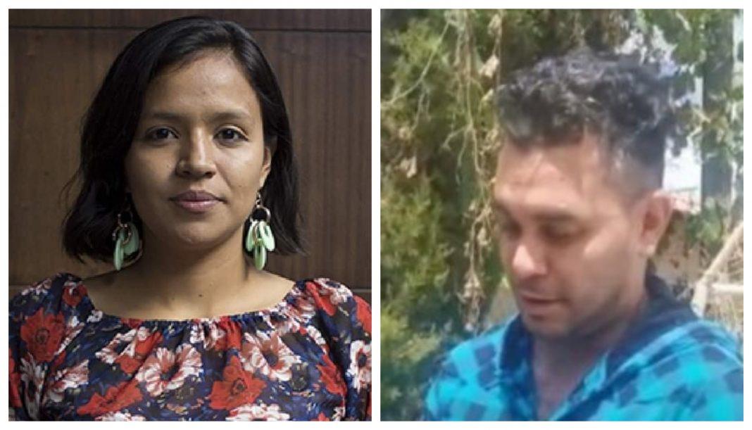 hija de Berta Cáceres atentado