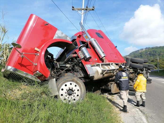 Cinco accidentes jueves Honduras