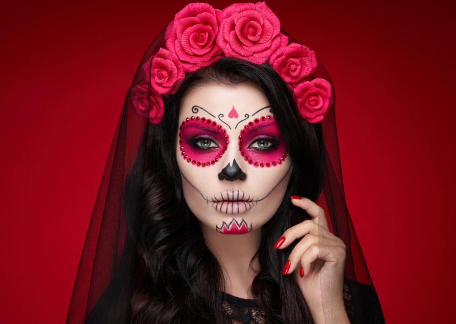 maquillar para noche Halloween