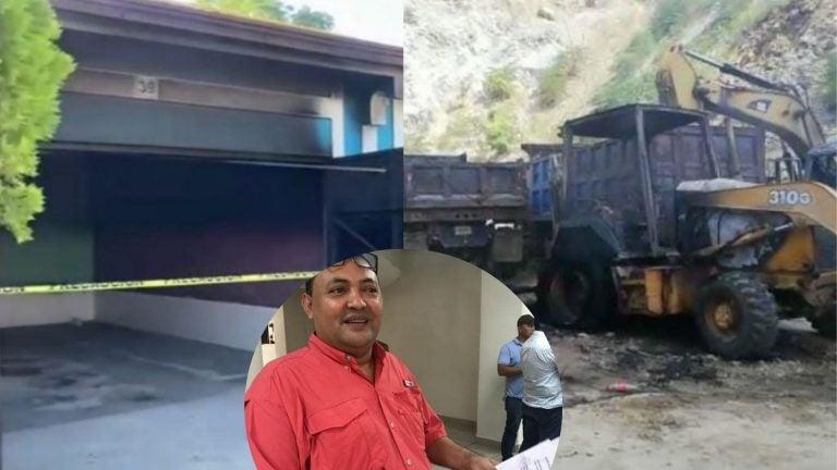 Plantel y motel: incendian dos propiedades de Miguelito Carrión