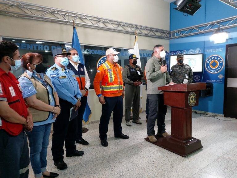 Copeco revela cifras acerca de daños que dejó incendio en Guanaja