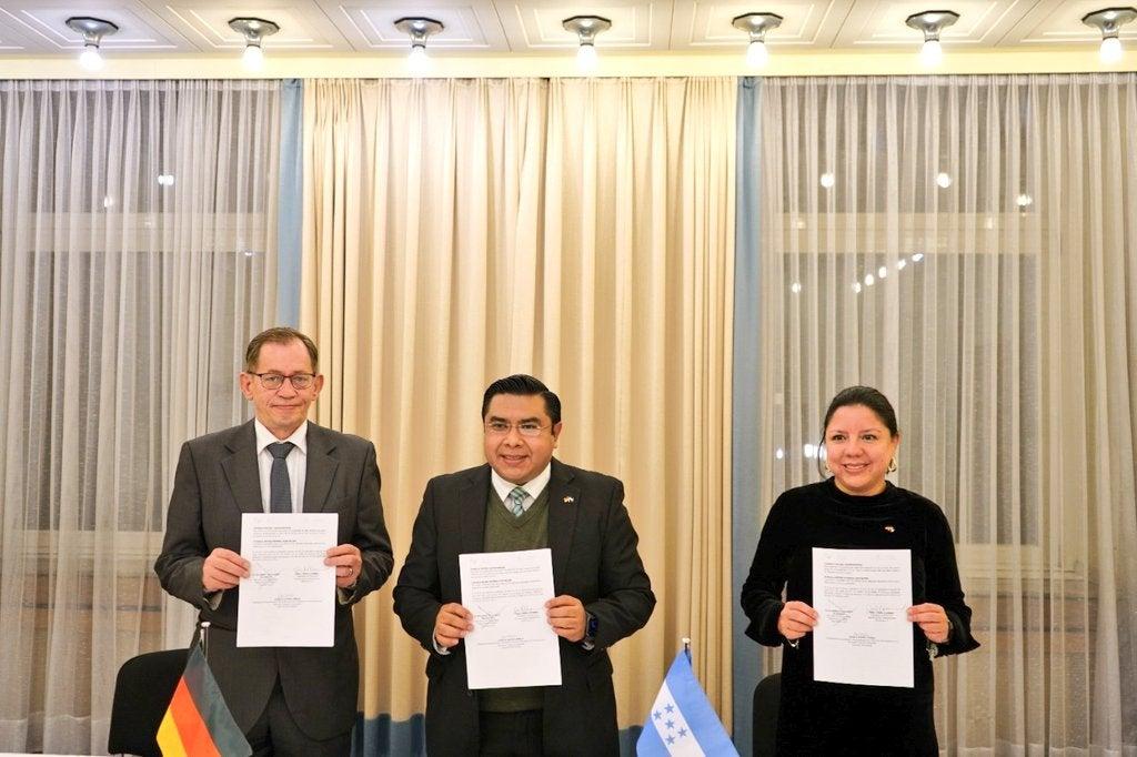 acuerdo de trabajo Alemania Honduras
