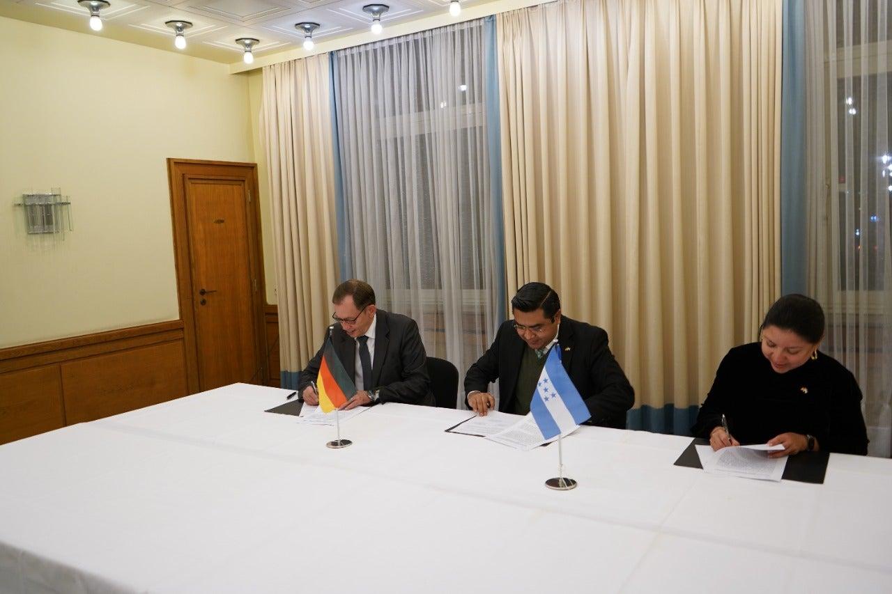 acuerdo trabajo Alemania Honduras