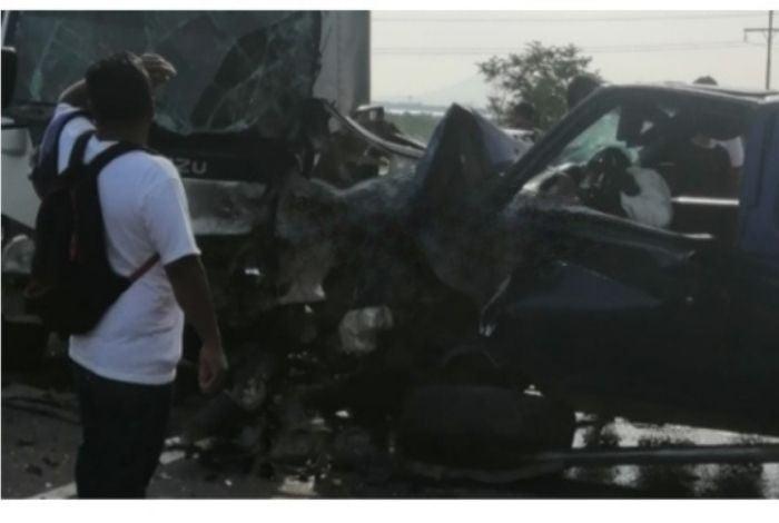 Unos cinco heridos hay por triple colisión en San Lorenzo