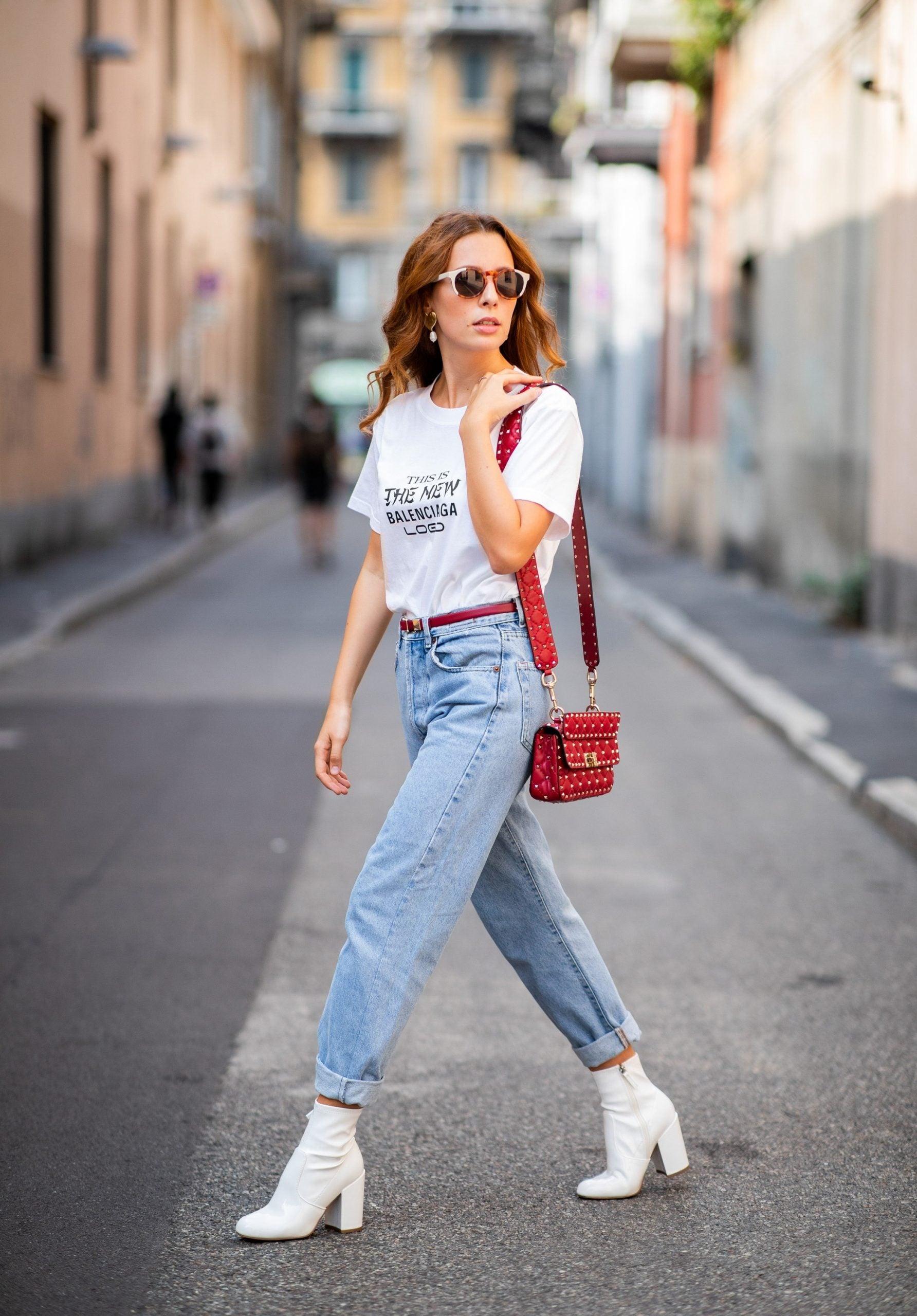Si eres chaparrita, este es el estilo de jeans que debes procurar usar.