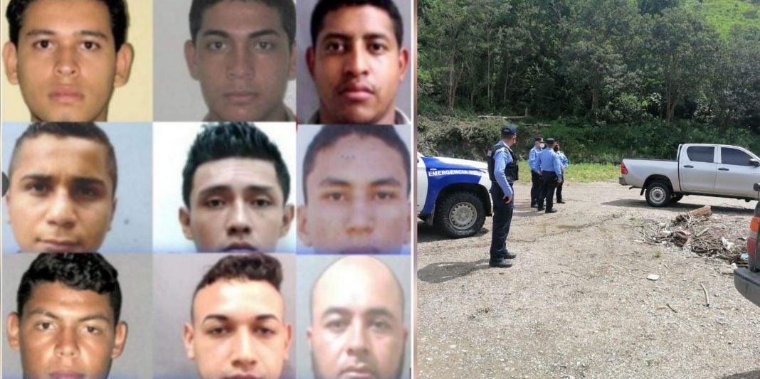 policías capturados con cocaína