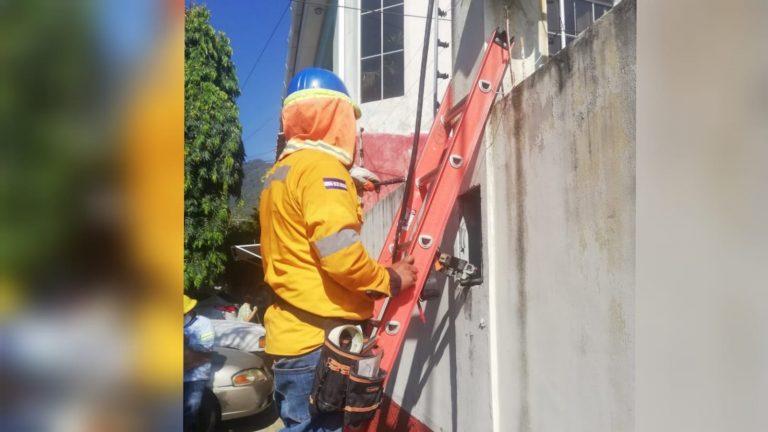 SÁBADO: EEH programa cortes de energía en el Distrito Central