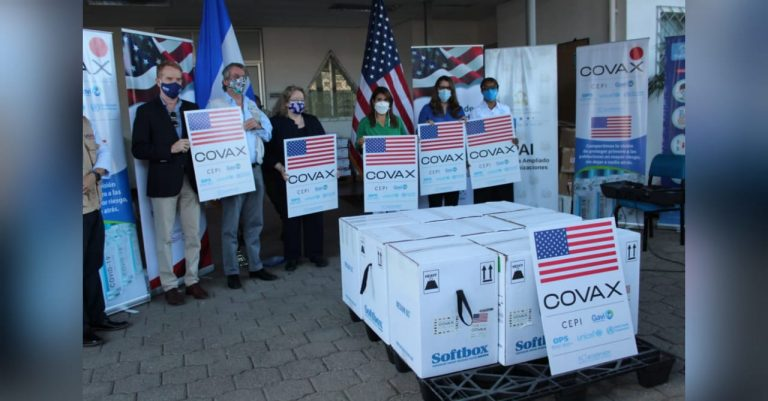 EEUU dona 81,900 dosis de vacunas contra la COVID a Honduras