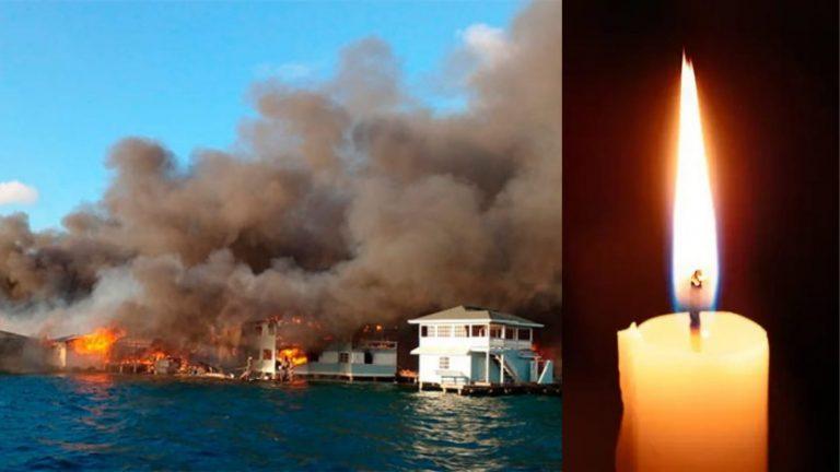 Sinager confirma que una vela causó incendio en Guanaja