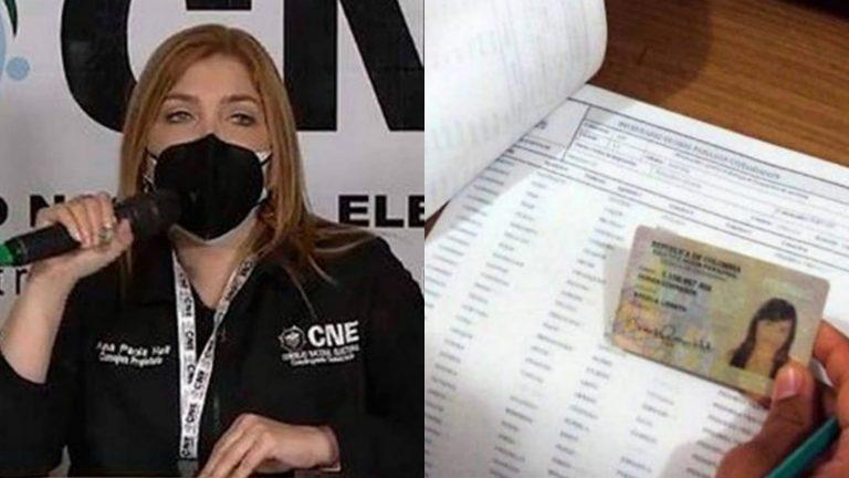 Ana Paola Hall: «Se acabó el censo donde votaban los muertos»