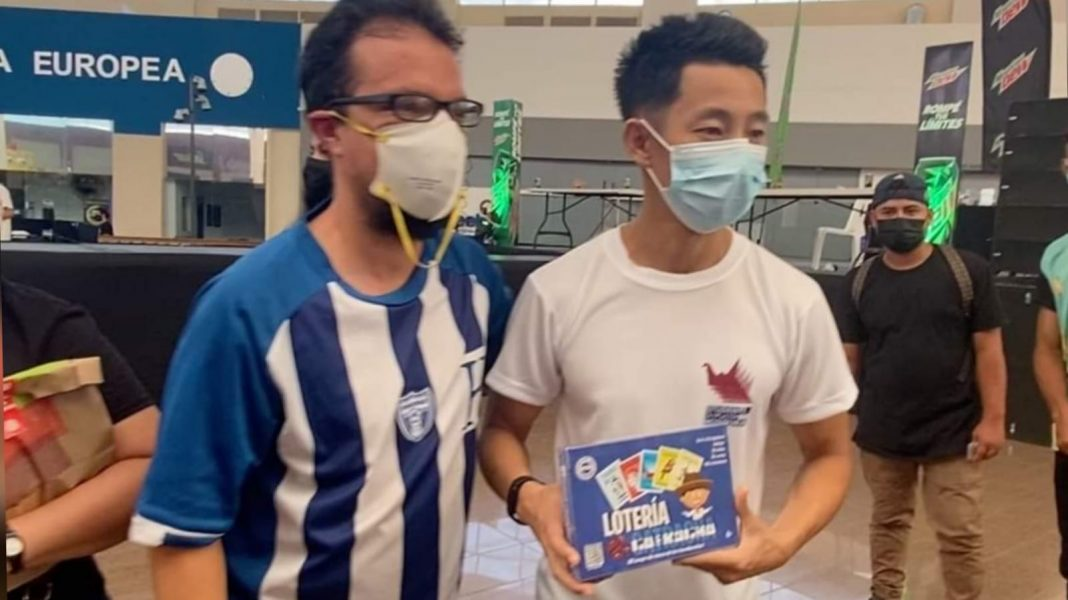 japonés destaca Lotería Catracha