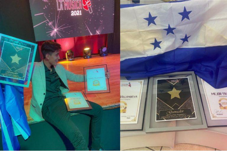 Hondureño gana tres premios por uso de redes sociales