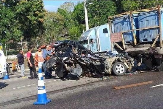 Accidentes de transporte pesado por velocidad