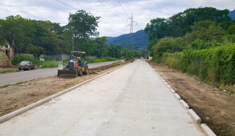 Alcaldía: Pavimentación del bulevar Las Torres está casi lista