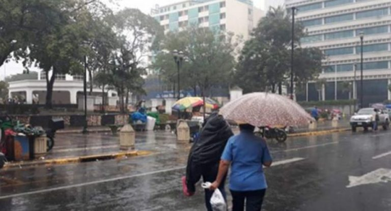 CLIMA: Fuertes lluvias para el centro, sur y oriente del país