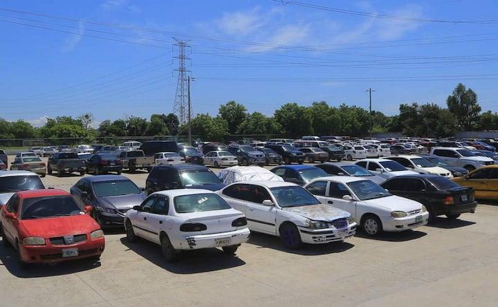 Retiro de vehículos decomisados